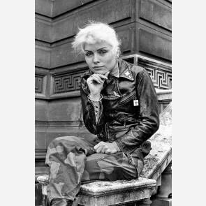 Debbie Harry of Blondie by Steve Emberton