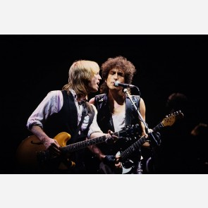 Tom Petty & Bob Dylan by Ebet Roberts