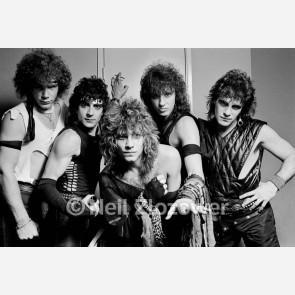 Bon Jovi by Neil Zlozower