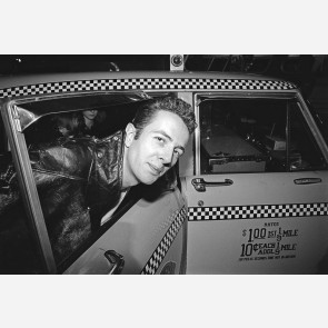 Joe Strummer of the Clash by Allan Tannenbaum