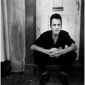 Joe Strummer of the Clash by Kevin Cummins