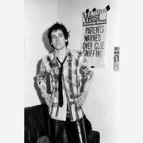 Mick Jones of the Clash by Steve Emberton