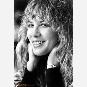 Stevie Nicks of Fleetwood Mac by Barry Schultz