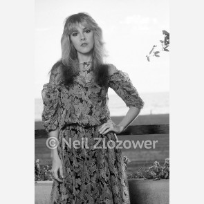 Stevie Nicks of Fleetwood Mac by Neil Zlozower