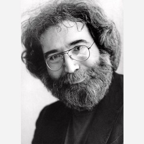 Jerry Garcia of the Grateful Dead by Christian Rose
