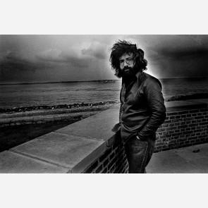 Jerry Garcia of the Grateful Dead by Gijsbert Hanekroot