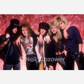 Guns N' Roses by Neil Zlozower