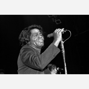 James Brown by Ebet Roberts