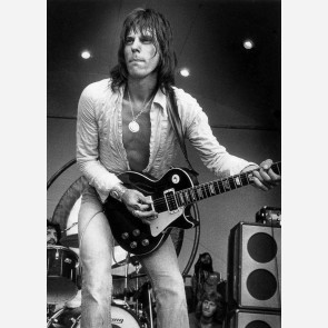 Jeff Beck by Barrie Wentzell