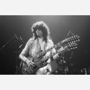 Jimmy Page of Led Zeppelin by Allan Tannenbaum