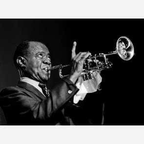 Louis Armstrong by Barrie Wentzell