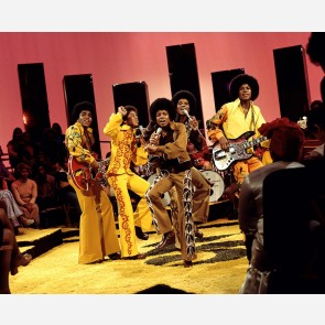 Michael Jackson w/the Jackson 5 by Jim Britt