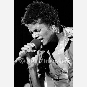 Michael Jackson by Neil Zlozower