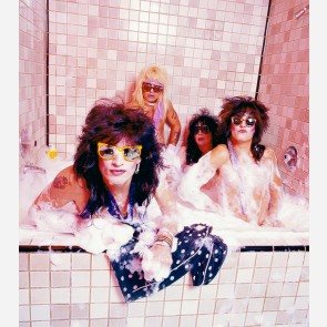 Mötley Crüe by Mick Rock