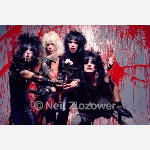 Mötley Crüe by Neil Zlozower