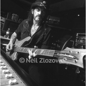Lemmy Kilmister of Mötorhead by Neil Zlozower