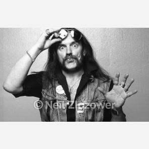 Lemmy Kilmister of Mötorhead by Neil Zlozower