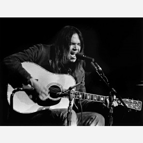 Neil Young by Barrie Wentzell