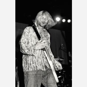 Kurt Cobain of Nirvana by Ken Settle