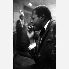 Oscar Peterson by Christian Rose