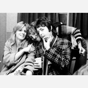 Paul & Linda McCartney by Ian Dickson