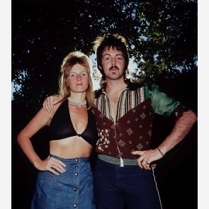 Paul & Linda McCartney by James Fortune