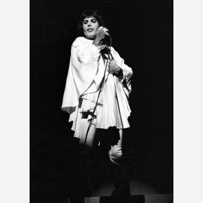 Freddie Mercury of Queen by Ian Dickson