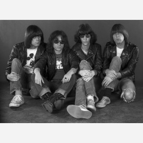 The Ramones by Adrian Boot