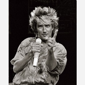 Rod Stewart by Al Rendon