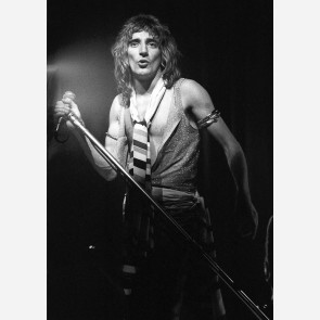 Rod Stewart of Faces by Ian Dickson