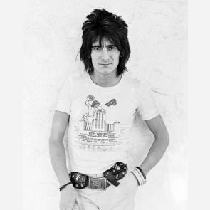 Ronnie Wood of the Rolling Stones by Kevin Goff