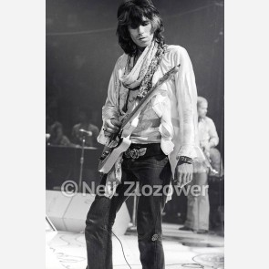 Keith Richards of the Rolling Stones by Neil Zlozower