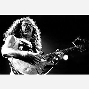 Carlos Santana by Christian Rose