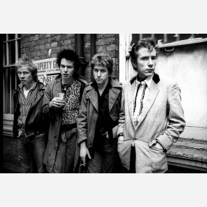 Sex Pistols by Adrian Boot