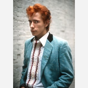 Johnny Rotten of the Sex Pistols by Adrian Boot