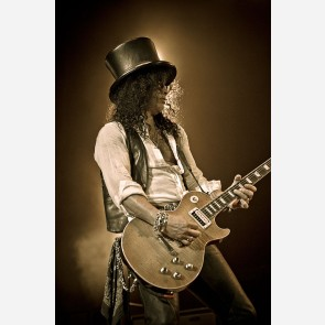 Slash of Guns N' Roses by Jérôme Brunet