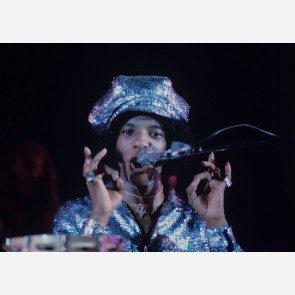 Sly Stone of Sly & the Family Stone by Gijsbert Hanekroot
