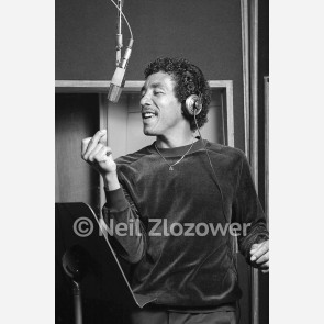 Smokey Robinson by Neil Zlozower