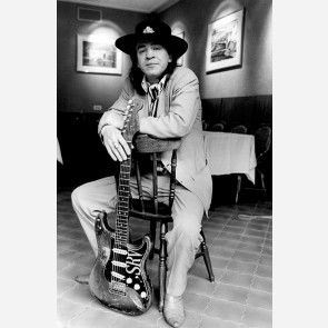 Stevie Ray Vaughan by Christian Rose