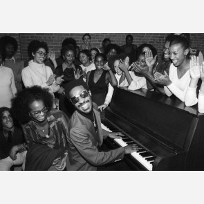 Stevie Wonder by Allan Tannenbaum