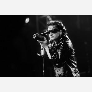 Bono of U2 by Ken Settle