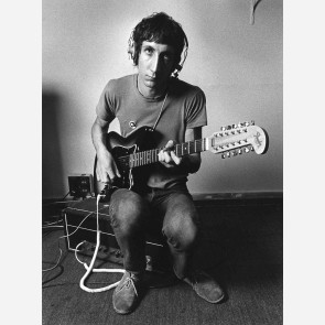 Pete Townshend of the Who by Barrie Wentzell