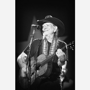 Willie Nelson by Jérôme Brunet